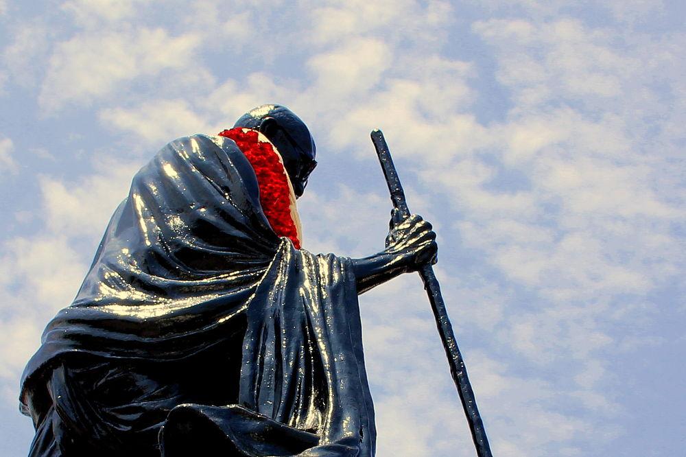 Gandhi Bapu by Mustansir Lokhandwala