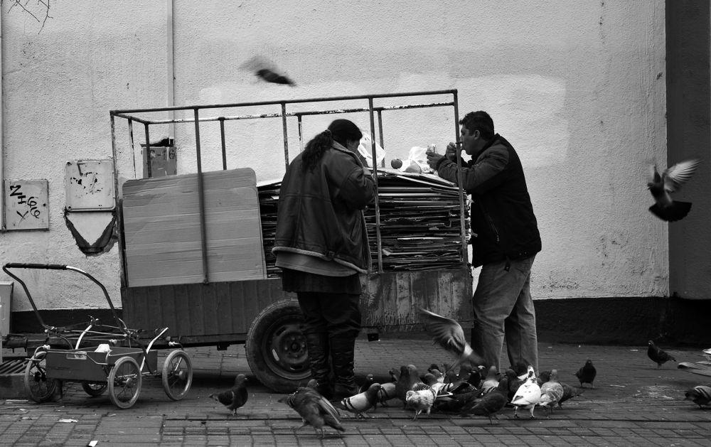Wealth of poverty II by Dzoga Shuman