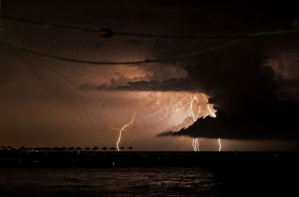 Photo in Random #ulcinj #montenegro #ada #bojana #delta #river #clouds #storm #ligjtning #thunder #sky #2013 #south