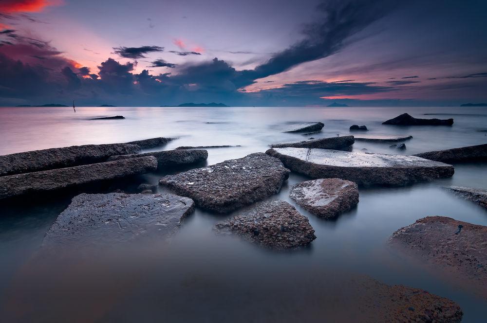 Photo in Landscape #long exposure #seascape #morning #sunrise
