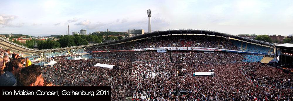 Iron Maiden Concert, Ullevi, Sweden  by clicksnapshot