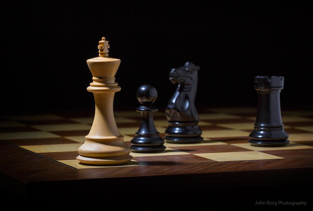 Checkmate !! by John Borg