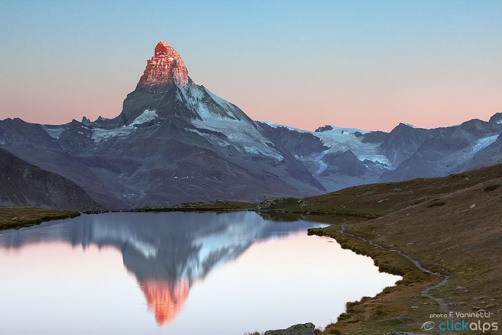 Sunrise on the Matterhorn by francesco vaninetti