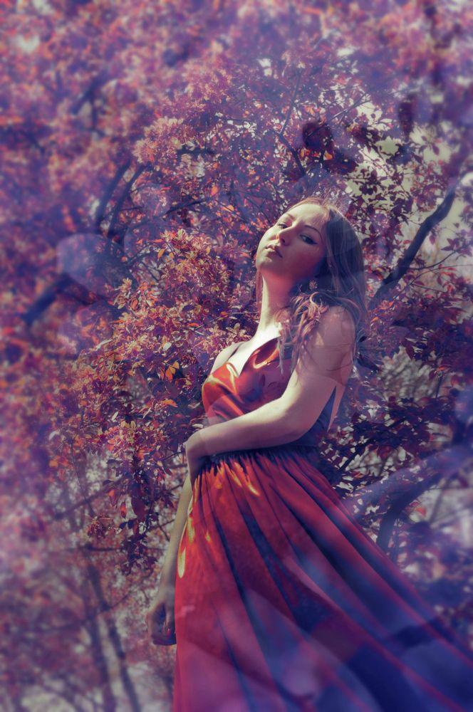 Photo in Fine Art #fayry #ingrid #dress #autumn #mood #feeling #victordetto