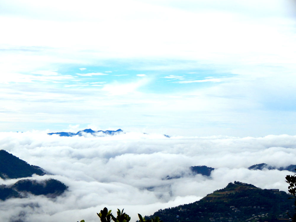 clouds in the valley by JosephVLRimawia