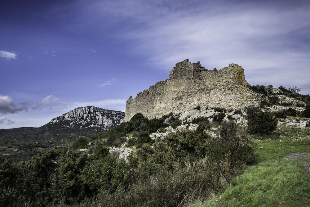 Photo in Nature #castle #castillo #château #france #francia #nature #sky #forêt #forest #d3100