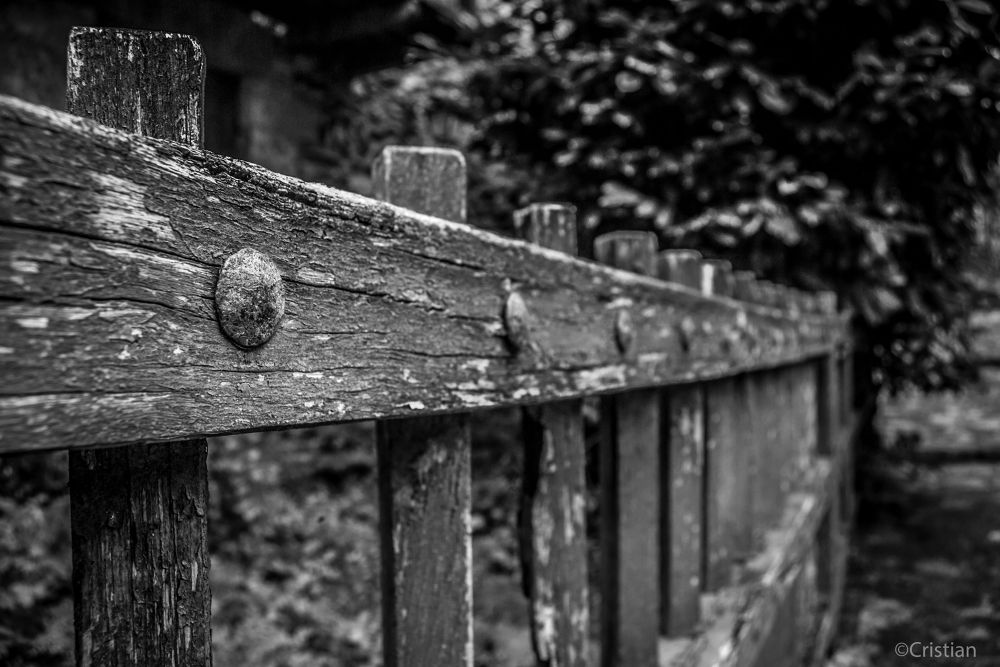 Photo in Random #begur #girona #spain #españa #espagne #barrière #valla #fence #black #white #melancholy #mélancolie #d3100