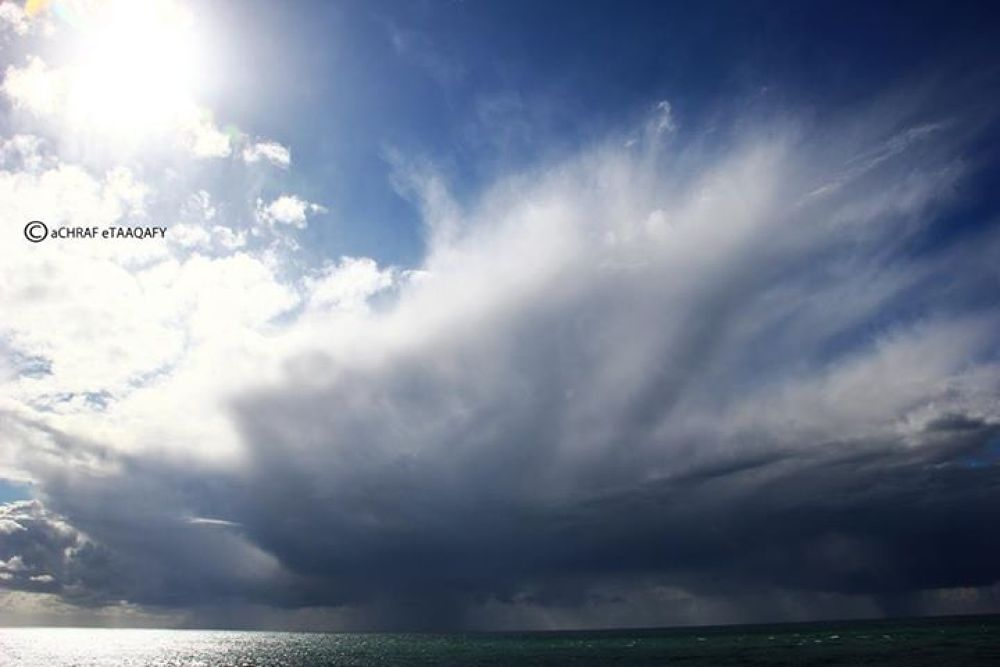 sea and sky by achrafalalam