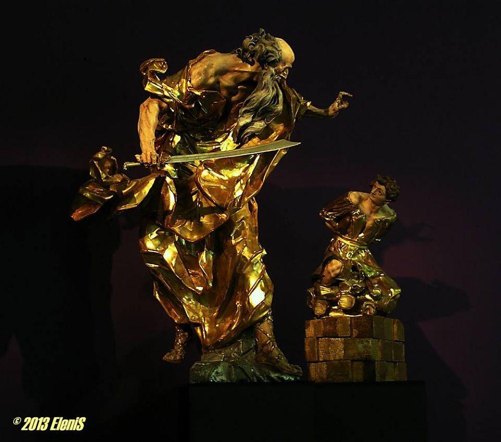 George Pinsel's sculptures have spiritual fundamentals by Elena Nischik