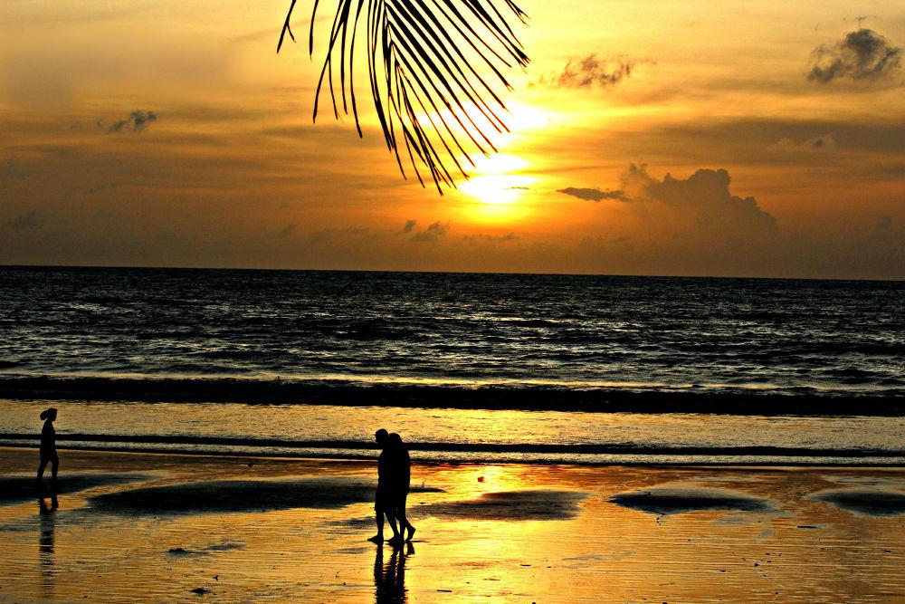 sunset by kvsuresh7