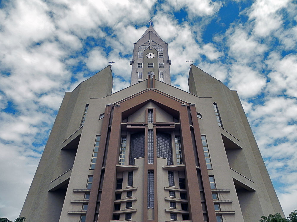 Catholic cathedral in our city by gabrielsecita