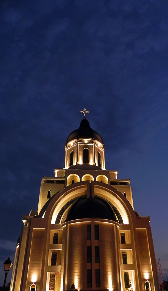 Orthodox cathedral in our city by gabrielsecita
