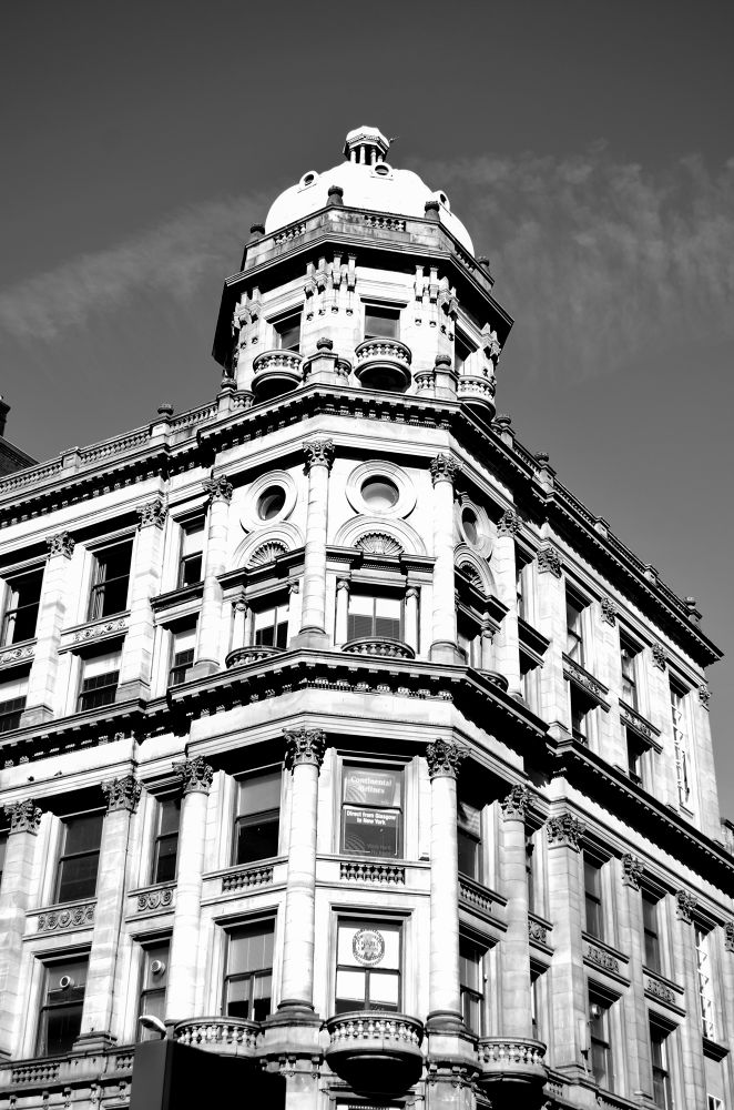 Photo in Architecture #glasgow #black and white