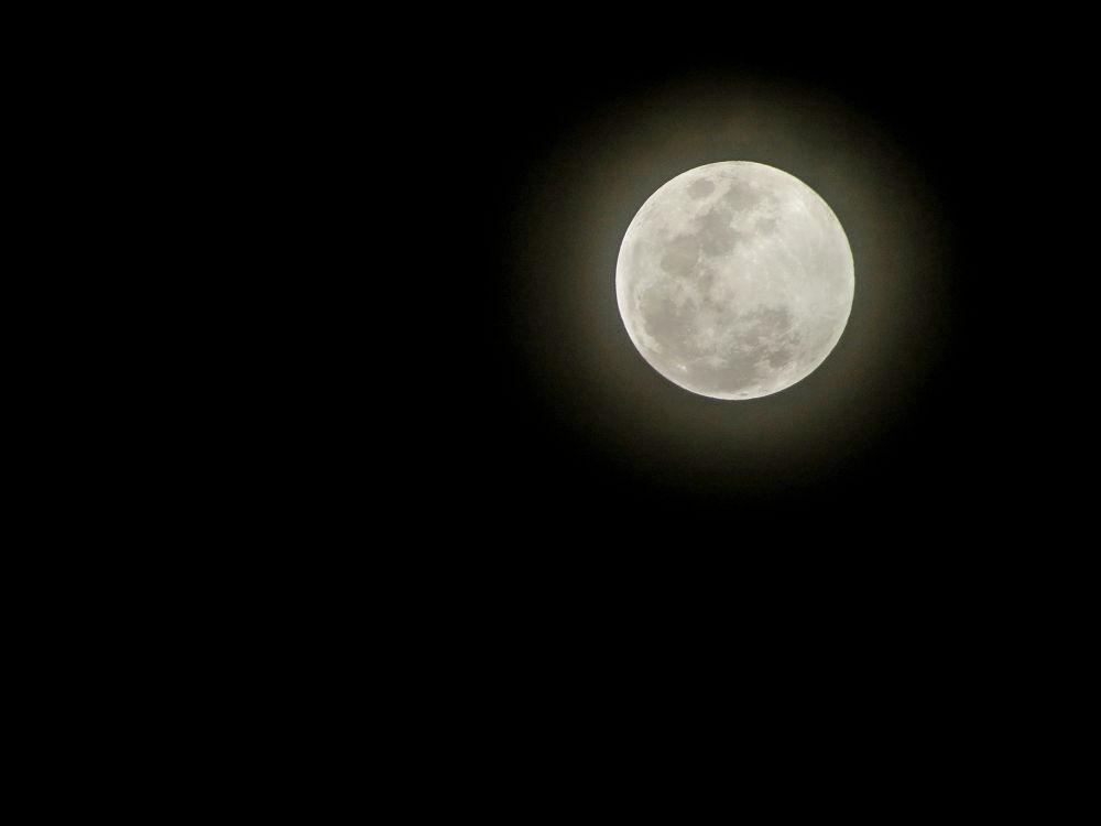 Lua em 18/10/2013, Salvador-Ba by SidneyZaratustra