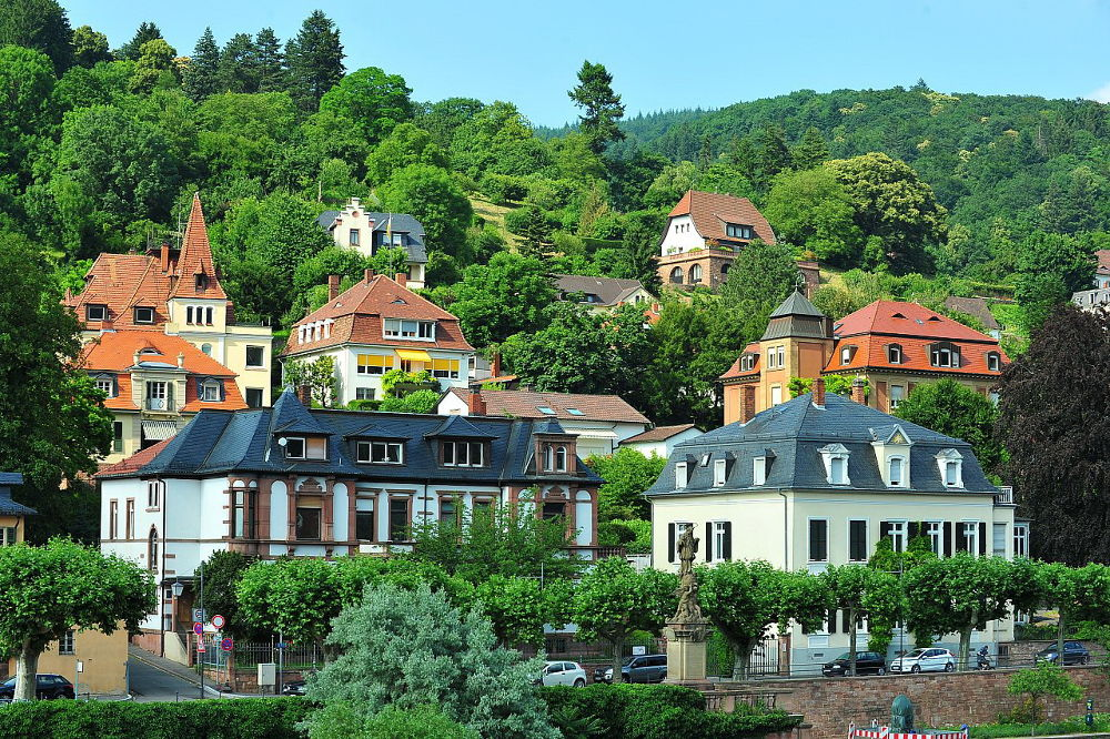 HOUSES ON HILL (Heidelberg, Germany) by VUHUNG
