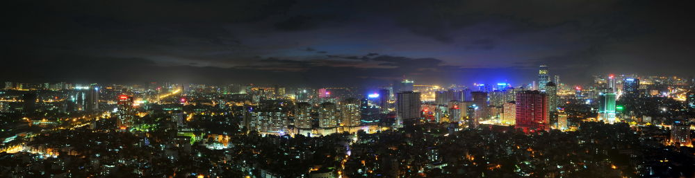 Hanoi after the powerful Haiyan Storm by VUHUNG