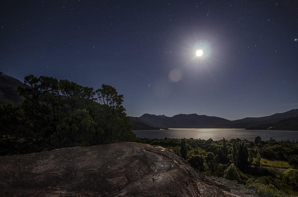 Reflejos de luna llena by WalterCunet