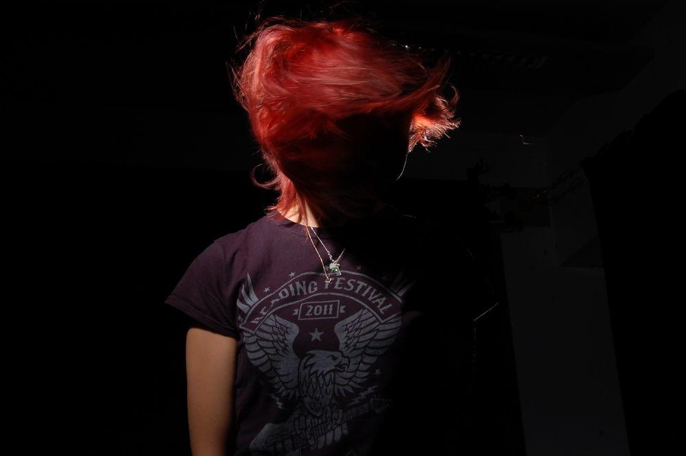 hair flick by Darren Hill