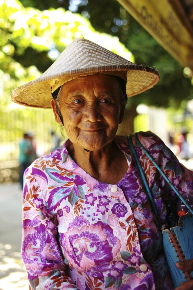 Indonesia Old Lady by Phang Yang