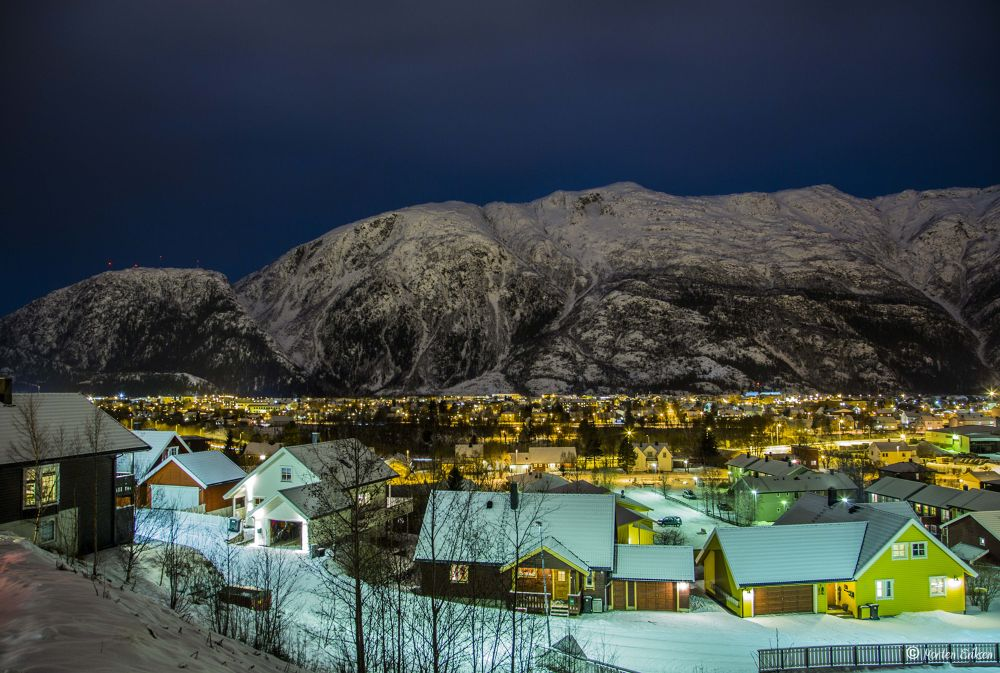 Mosjøen City 3 by Morten Eriksen