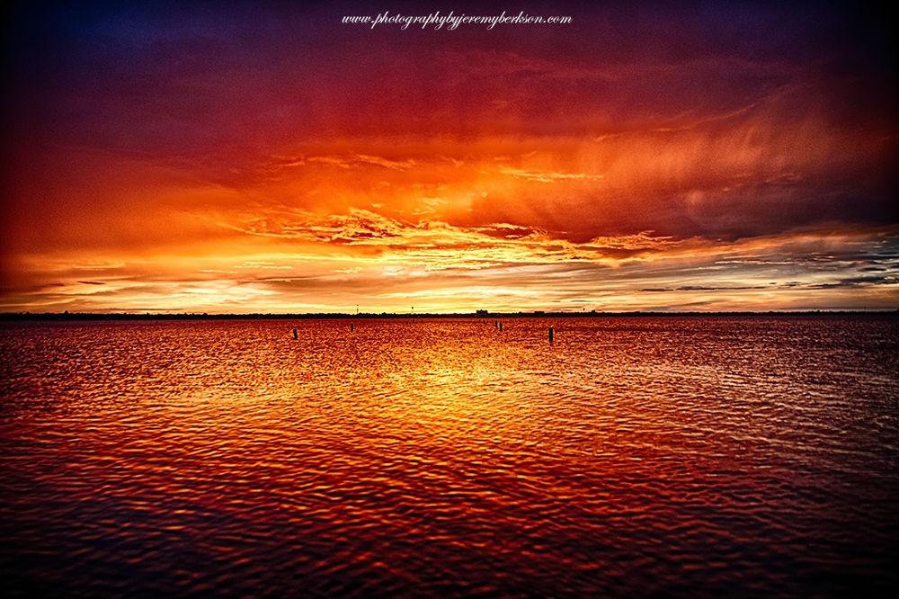 Sunrise @ Lake Jackson by Jeremy Berkson