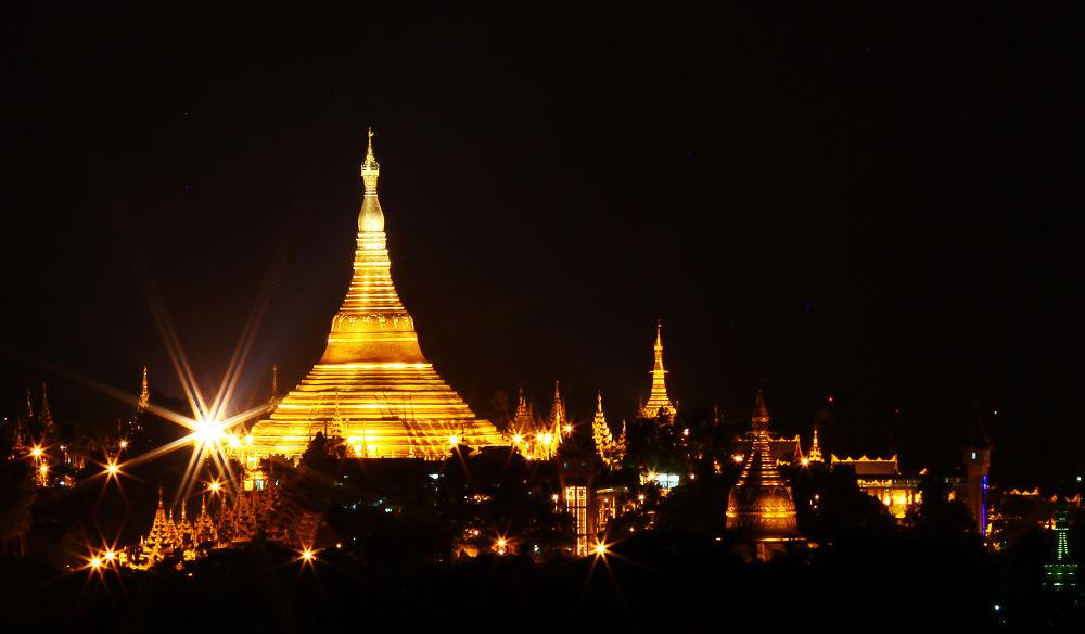 Yangon- Myanmar by Dung Le