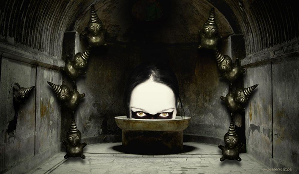 Photo in Random #mind #(original #artwork #cm #gleeson) #juggled