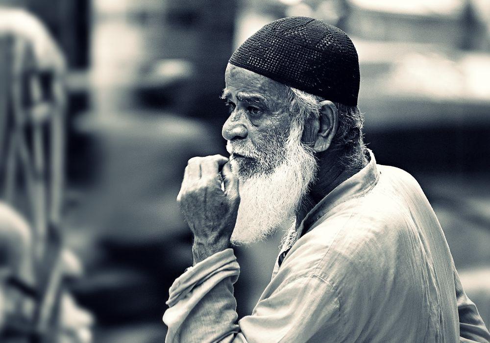 an old man... by Abu Basad O Goni