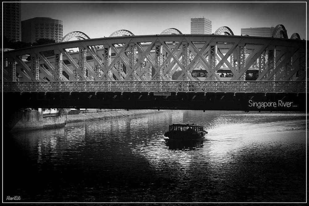 Singapore River by Allan Ooi