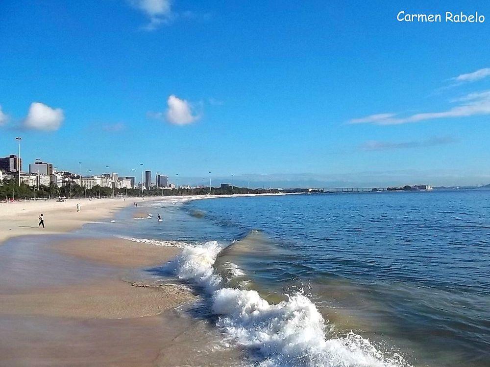 Praia do Flamengo  by Carmen Rabelo