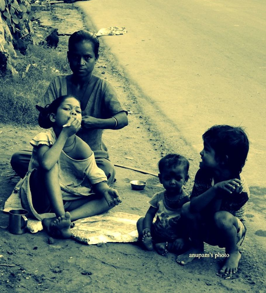pother pachali ( the story of the street ) by anupam2guha