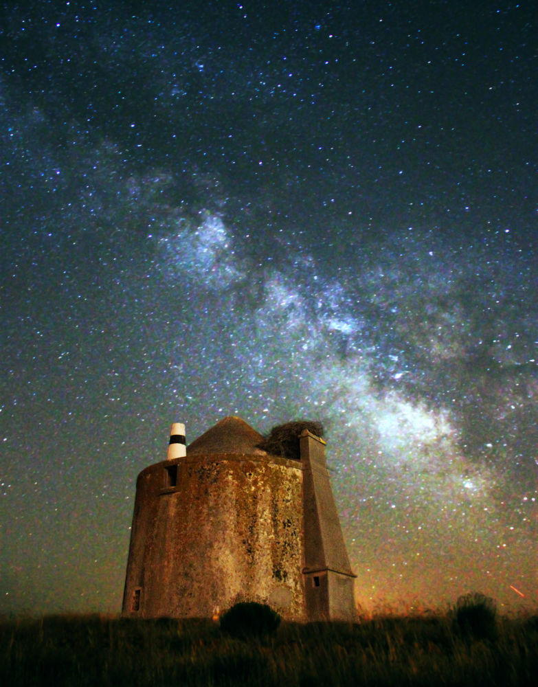 Photo in Astrophotography #milky way #stars #portugal