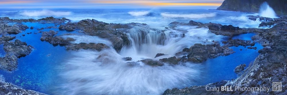 Photo in Landscape #thor's well #oregon #water #blue #craig bill #sony #ypa2013