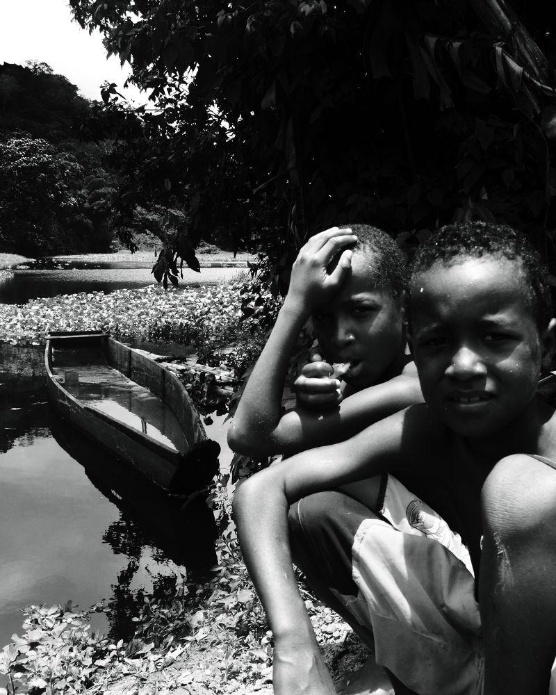 Photo in Black and White #kids #b&w