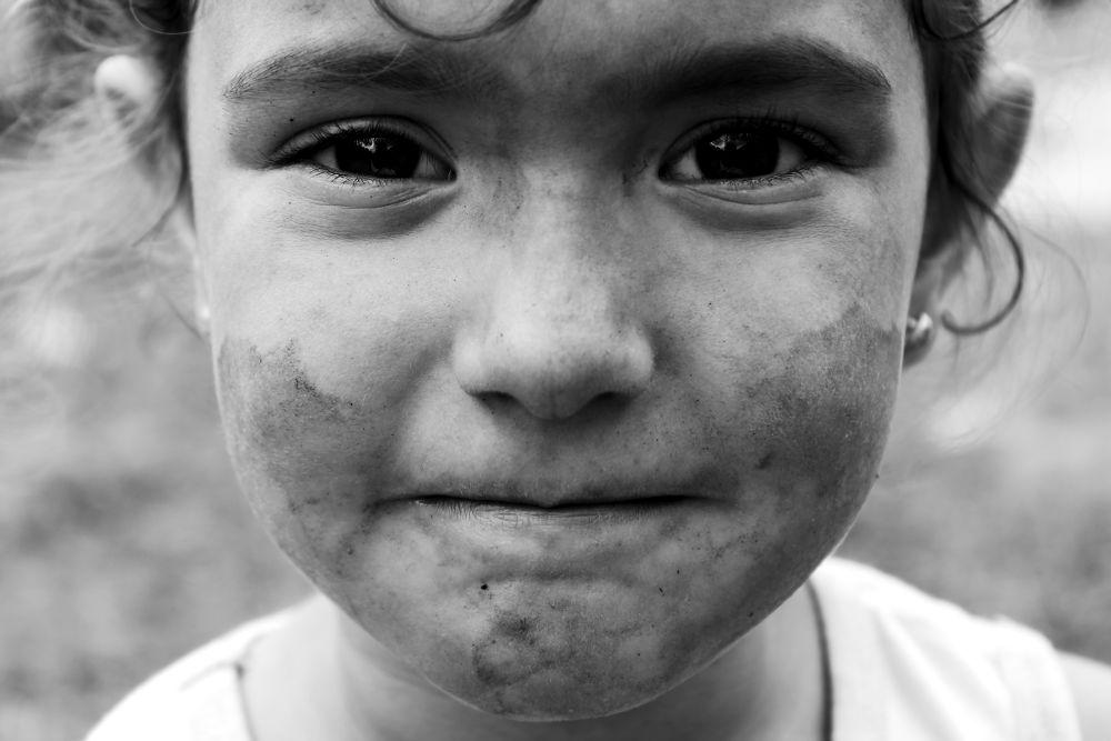 little girl #2 by Denise Lombardi