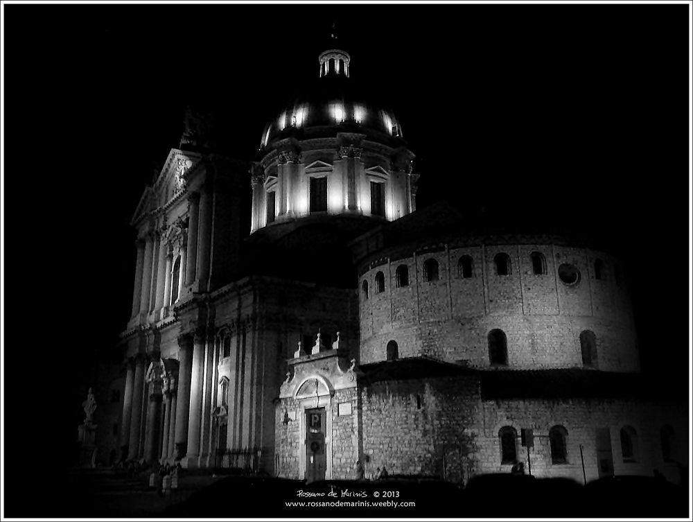 The Cathedral by Night by Rossano de Marinis