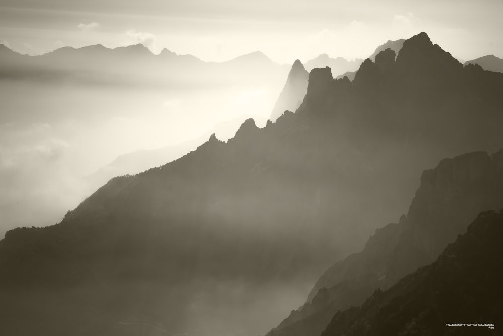 The Silent Mountains by Alessandro Olioso