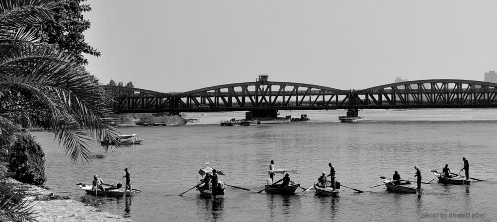 crosses the bridge  by ahmeD aDel