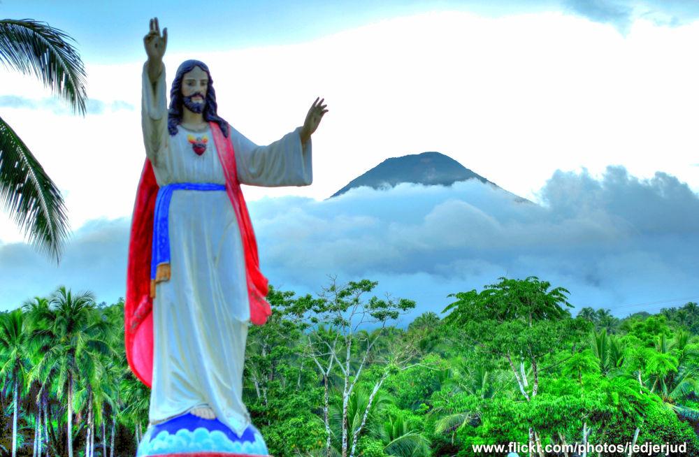 Jesus @ Mount Banahaw, Philippines by jedjerjud