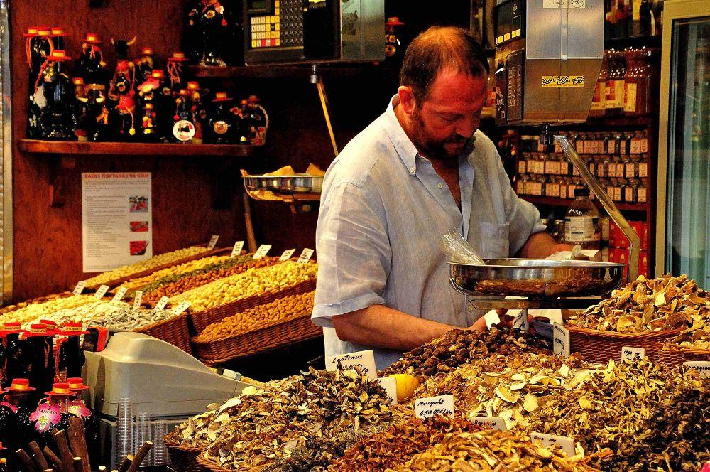 Photo in Random #barcelona #mercato #trade #sellers #spezie #spices