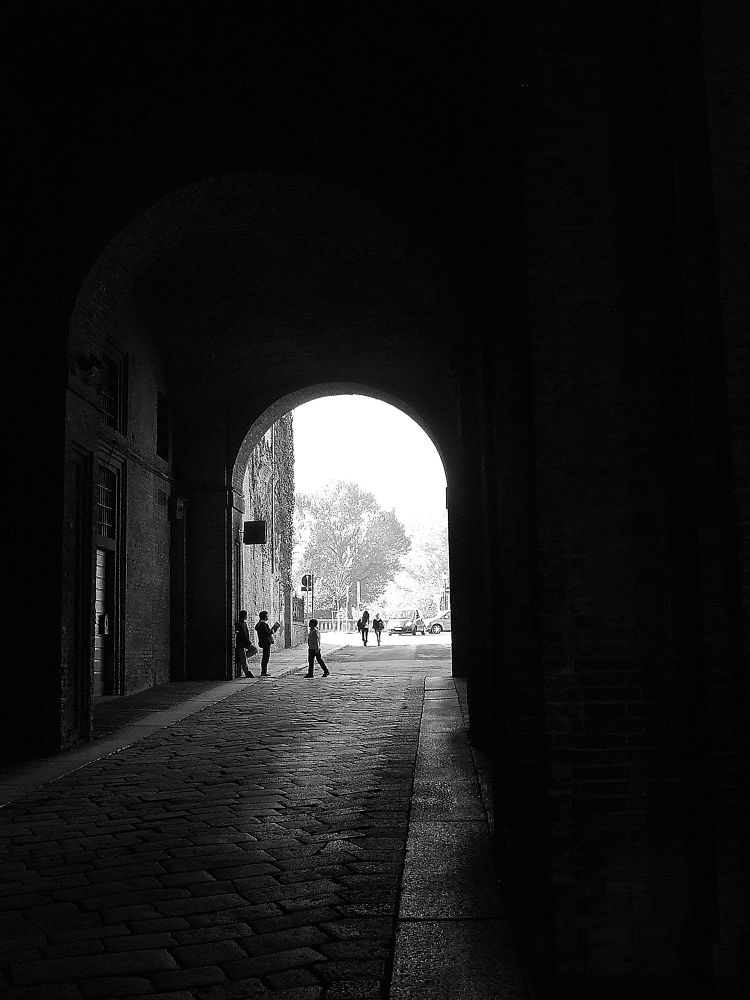 Photo in Random #parma #palazzo ducale #gallery #italy #people #black & white