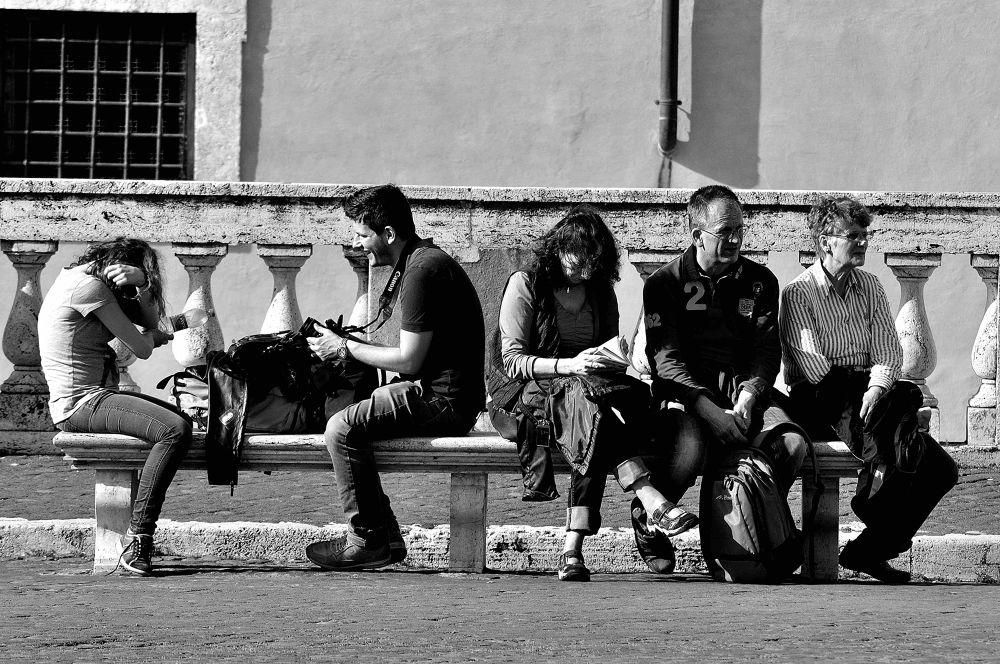 The Bench by luigiioriofotografia