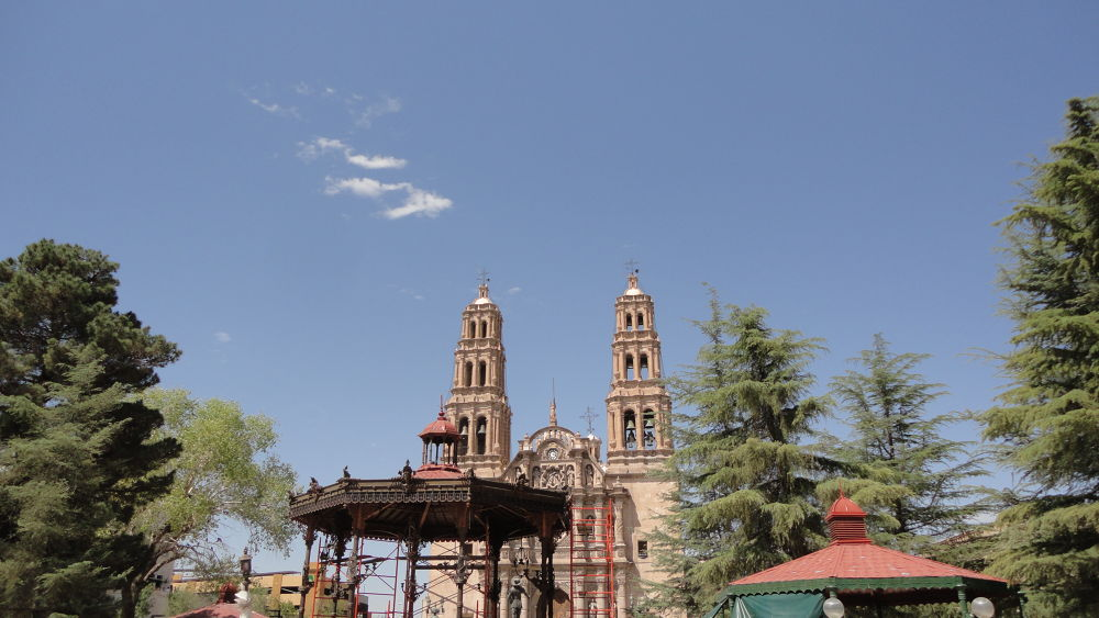 A Beautiful Cathedral in Chihuahua City by Tibu.Aguirre