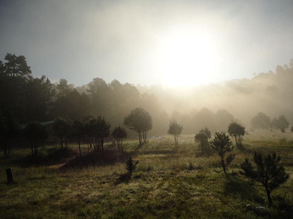 A Sunrise with Fog by Tibu.Aguirre