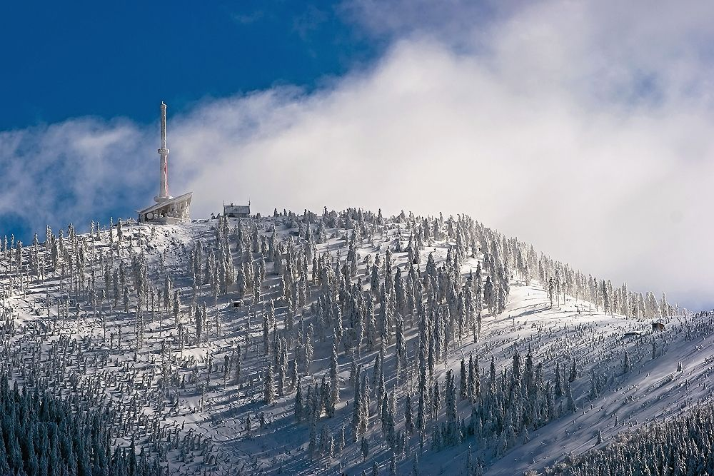 The highest mountain in the Moravian-Silesian Beskydy - Lysa hora (1323 m) by Martin