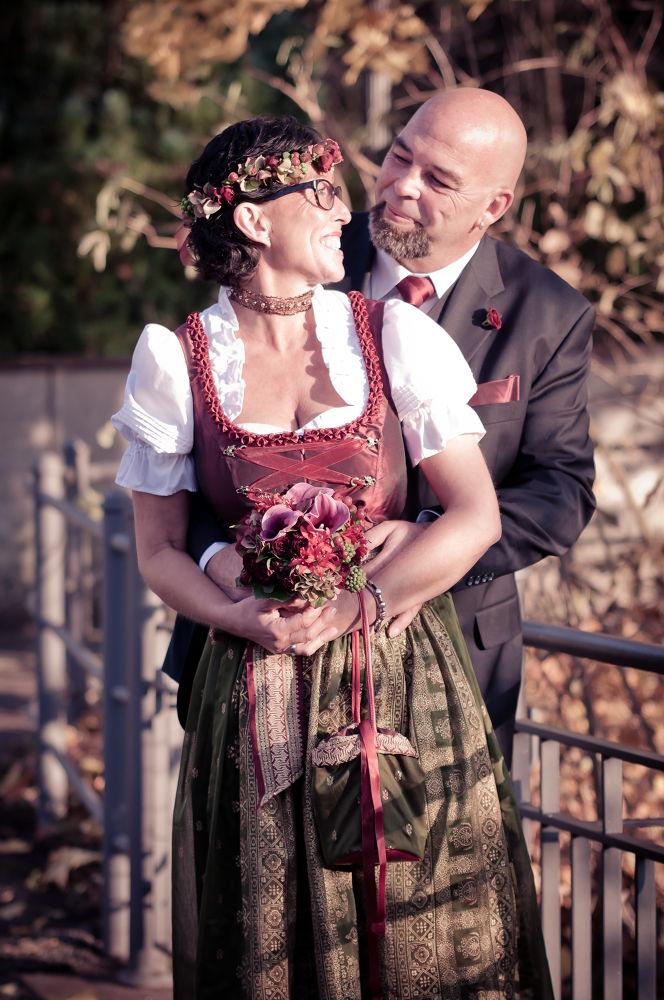 Photo in Portrait #wedding #pair #love #woman #flower #flowers