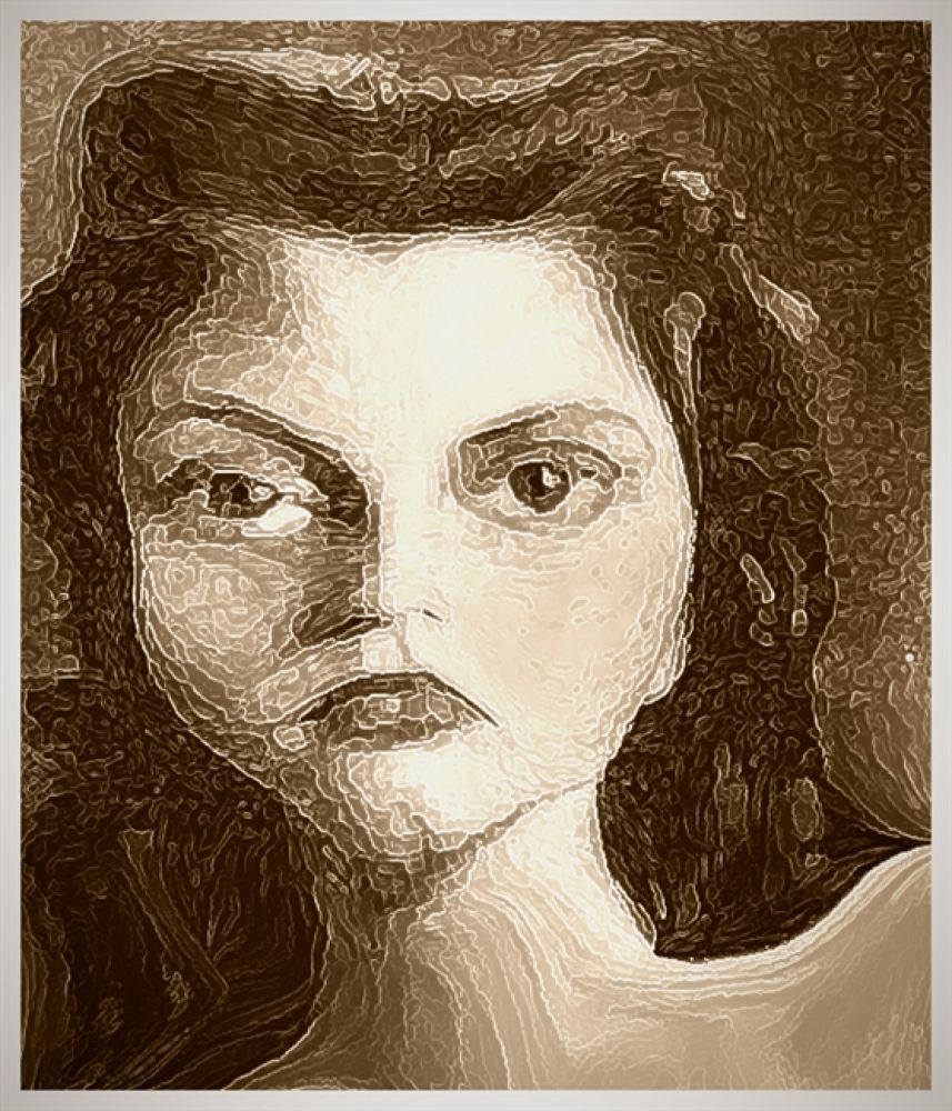 Pouty_Mary__Portrait_One_by_NooYawkGurrl by nooyawkgurrl