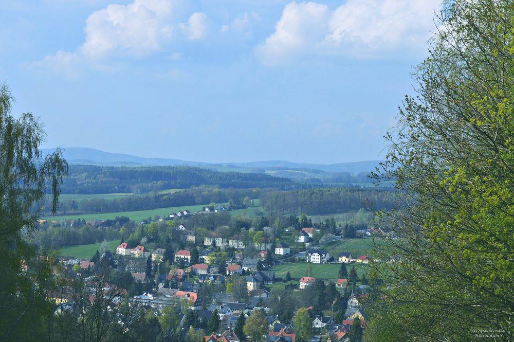 Saxony, Upper Lusatian Mountains by agneswuensche