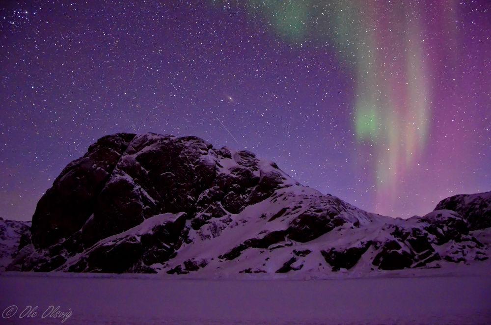 A Polar Night by Ole Olsvig