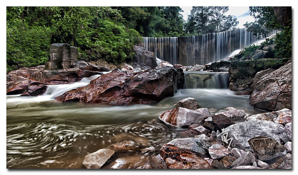 Waterfall by Sinography